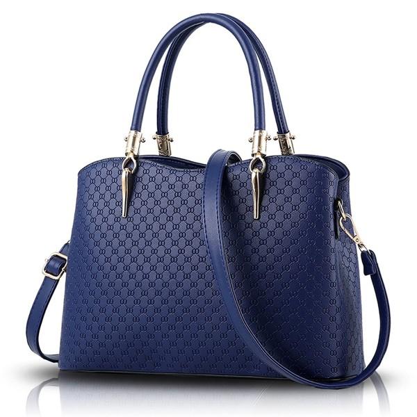 Sunas handbag embossed Oblique shoulder