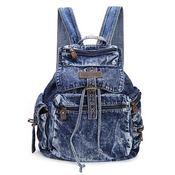 SAIERLONG Womens Daypacks Satchel Backpack