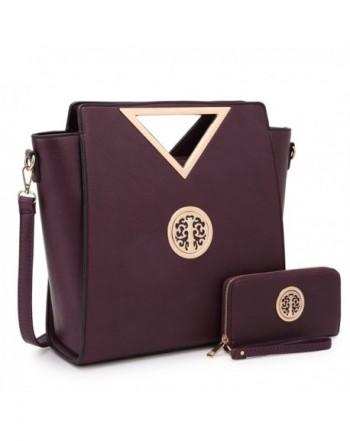 Dasein Designer Handbag Triangle Fashion