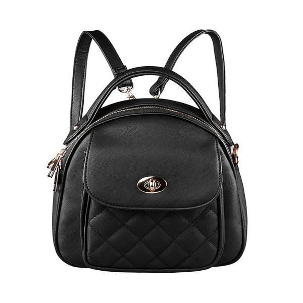 S ZONE Stylish Leather Backpack Shoulder